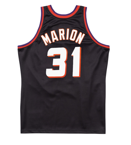 Mitchell and Ness Swingman Jersey Phoenix Suns Shawn Marion 31 Alt 99-00 Black