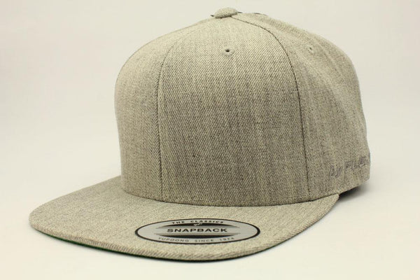 The Classic Snapback Heather Grey