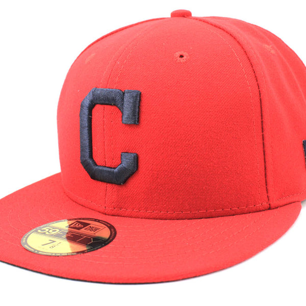 New Era Cleveland Indians Alt2 MLB On Field 2018 59Fifty Fitted