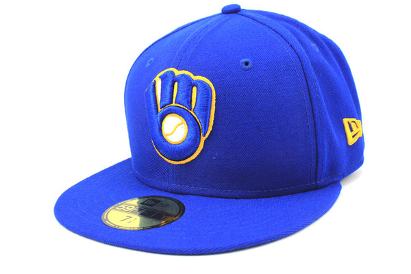 New Era Milwaukee Brewers Alt MLB On Field 2018 59Fifty Fitted