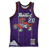 Mitchell and Ness Swingman Jersey Toronto Raptors Stoudmare 20 Road 95 - 96 Purple