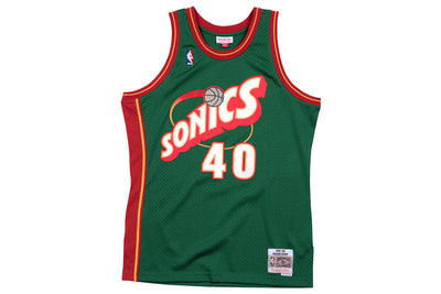 Mitchell and Ness Seattle SuperSonics Shawn Kemp Swingman Jersey