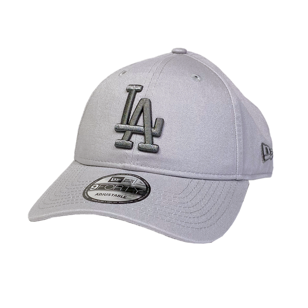 New Era 9Forty Cloth Strap Grey Shade Los Angeles Dodgers