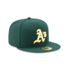 New Era 59Fifty MLB On Field Oakland Athletics Road