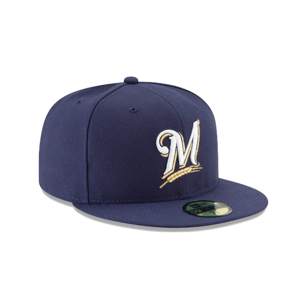 New Era 59Fifty MLB On Field Milwaukee Brewers Game