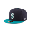 New Era 59Fifty MLB On Field Seattle Mariners Alt