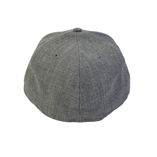 New Era 59Fifty Blank Fitted Heather Grey