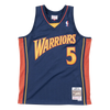 Mitchell and Ness Swingman Jersey Golden State Warriors Baron Davis 5 06-07 Navy