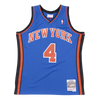 Mitchell and Ness Swingman Jersey New York Knicks Nate Robinson 4 05-06 Royal