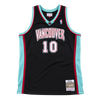 Mitchell and Ness Swingman Jersey Vancouver Grizzlies Mike Bibby 10 00-01 Black