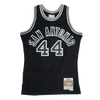 Mitchell and Ness Swingman Jersey San Antonio Spurs George Gervin 44 77-78 Black