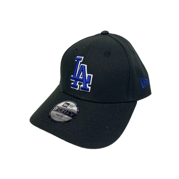 New Era Youth 9Forty Velcro Strapback Los Angeles Dodgers Black