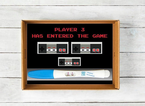 pregnancy announcement ideas nintendo