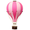 Super Balloon Decorative Hot Air Balloon - Bright Pink & Light Pink
