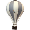 Super Balloon Decorative Hot Air Balloon - Dark Grey/ Cream