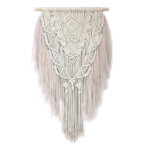 Spinkie Baby Macrame Hanging Champagne