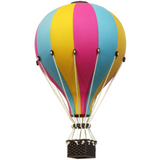 Super Balloon Decorative Hot Air Balloon - Pink, Yellow & Blue