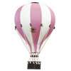 hot air ballon decor dusty pink