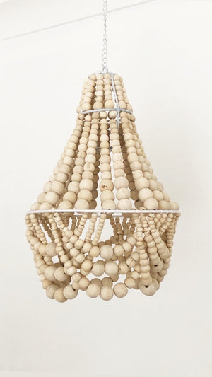 Elok Petite Beaded Chandelier Light