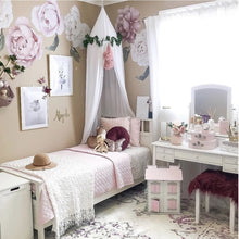 Ginger Monkey Classic Pink Peony & Rose Wall Decal