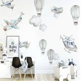 Ginger Monkey Flying High Wall Decal