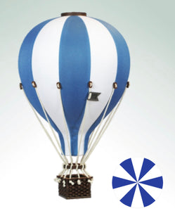 Decorative Hot Air Balloon - Navy Blue