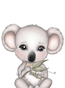 Isla Dream Euca the Koala Print (Cool or Warm)