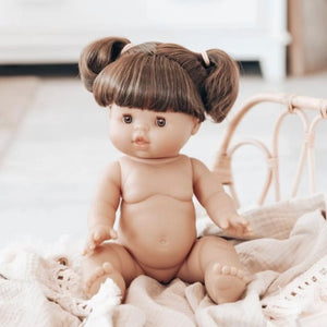 Paola Reina Minikane Gordis Doll - Jennifer Brunette Brown Eyed Girl