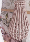 Elok Small Oval Beaded Chandelier Light