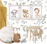Isla Dream Gerald the Giraffe Print