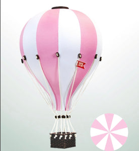 Decorative Hot Air Balloon - Light Pink