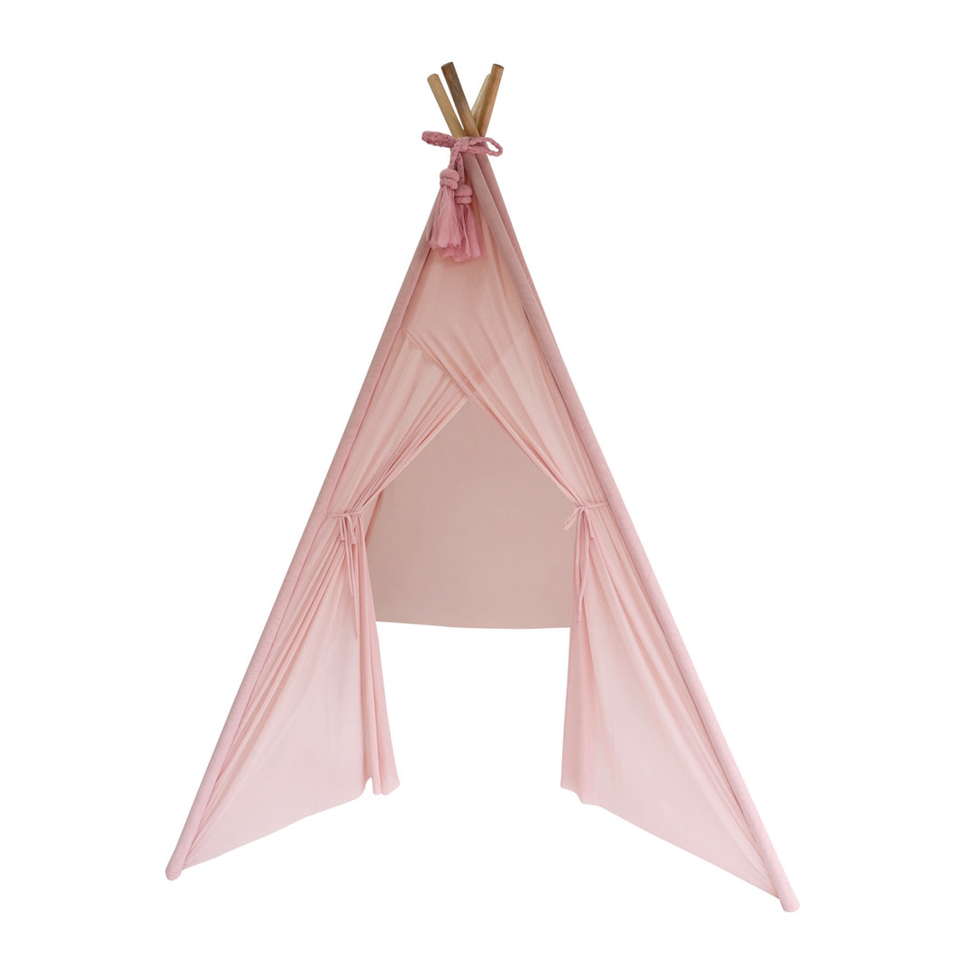 Spinkie Baby Sheer Teepee in Dusty Pink
