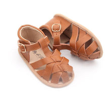 Lilly & Rose 'Soho' Soft Sole Leather Sandals - Tan