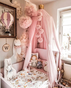 Decorative Hot Air Balloon - Dusty Pink