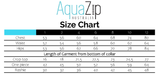 AquaZip Zip-up One Piece - Charlotte