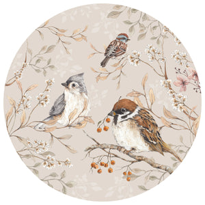 Dekornik Birds in a Circle Wall Decal