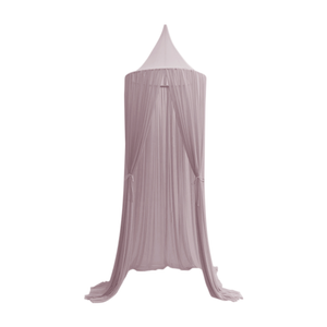 These Spinkie Baby Sheer in Old Rose Canopies are the ultimate luxury in children's decor and are the perfect addition to your little girl or boy's room.