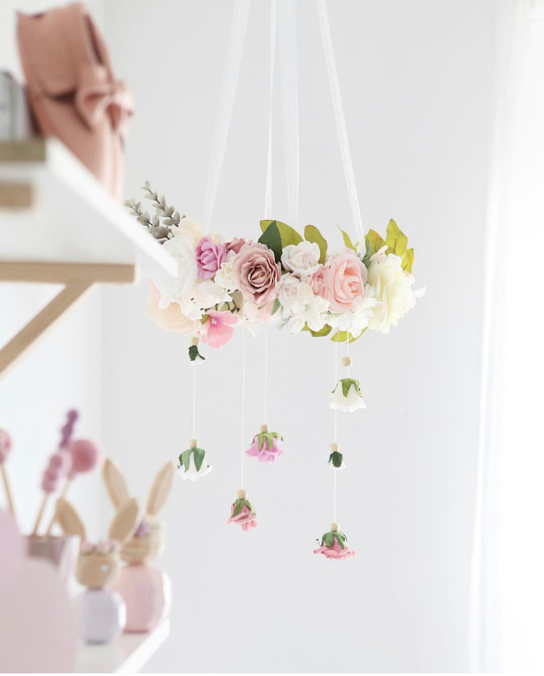 Poppet & Wildflower Floral Mobile