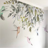 Ginger Monkey Watercolour Hummingbirds Wall Decal
