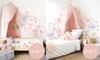 Schmooks Sleepy Bows & Roses Wall Decal
