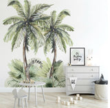 Ginger Monkey Tropical Island Wall Decal