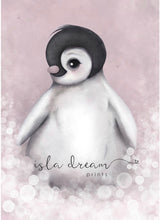 Isla Dream Romeo the Baby Penguin Print (Pink or Grey)