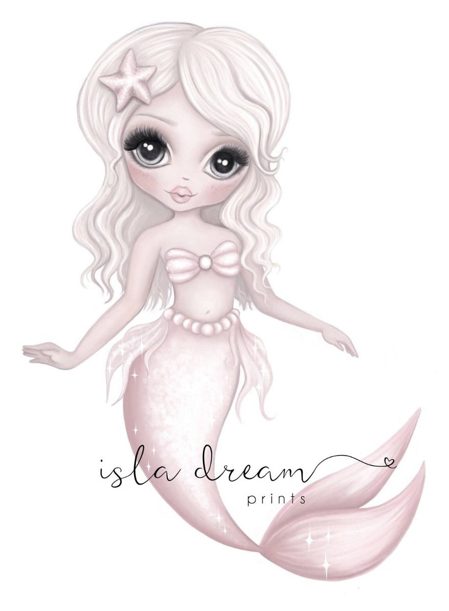 Isla Dream Jewel the Mermaid Print