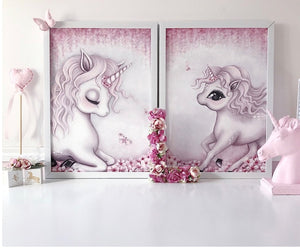 Isla Dream Aubrey the Unicorn Print