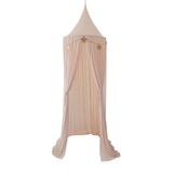 Spinkie Baby Sheer Canopy Nude & Star Garland Set