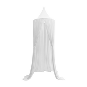 These Spinkie Baby Sheer White Canopies are the ultimate luxury in children's decor and are the perfect addition to your little girl or boy's room.