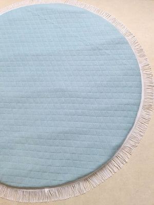 Miss Angel Ilaria Luxe Jersey Playmat - Duck Egg Blue