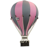 Super Balloon Decorative Hot Air Balloon - Pink & Grey