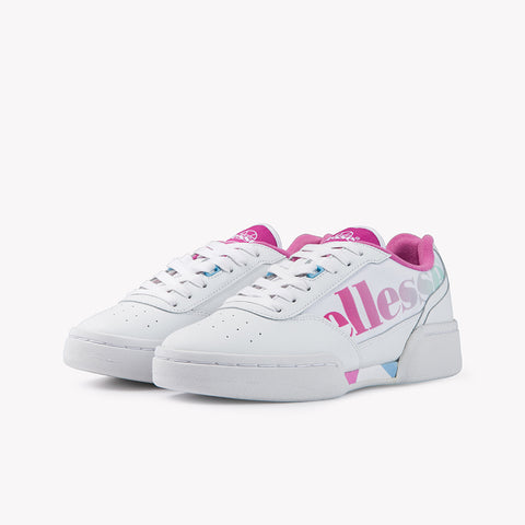 Piacentino Womens Trainer White Pink