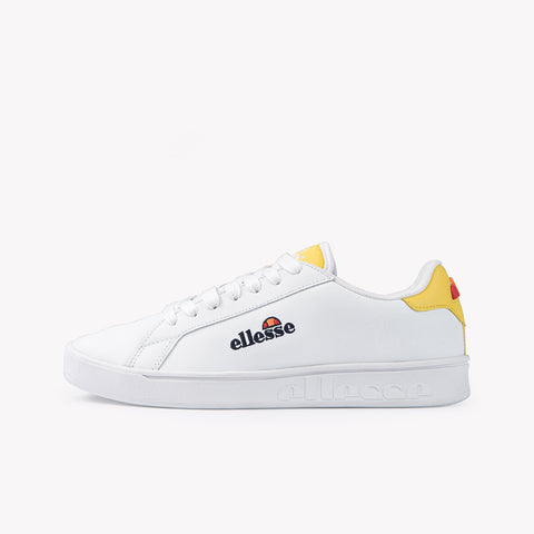 Campo EMB Womens Trainer White Yellow